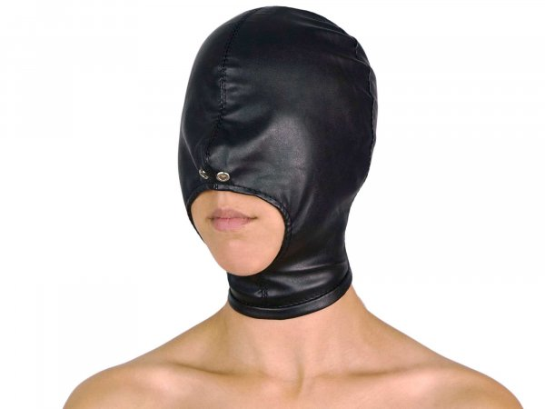 Leder-Maske (Imitat)