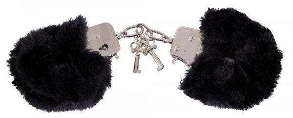 Handsch. Love Cuffs schwarz