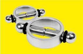 Magnetische Nippelklemmen aus Edelstahl (USA-Neuheit)