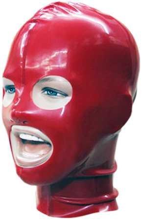 Red-Devil Latex-Maske