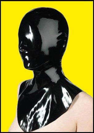 Latex Chastity-Maske