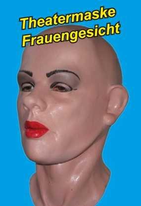 Latex- Vollschaum Theater-Maske