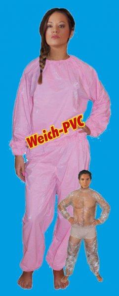 PVC-Anzug Hemd & Hose