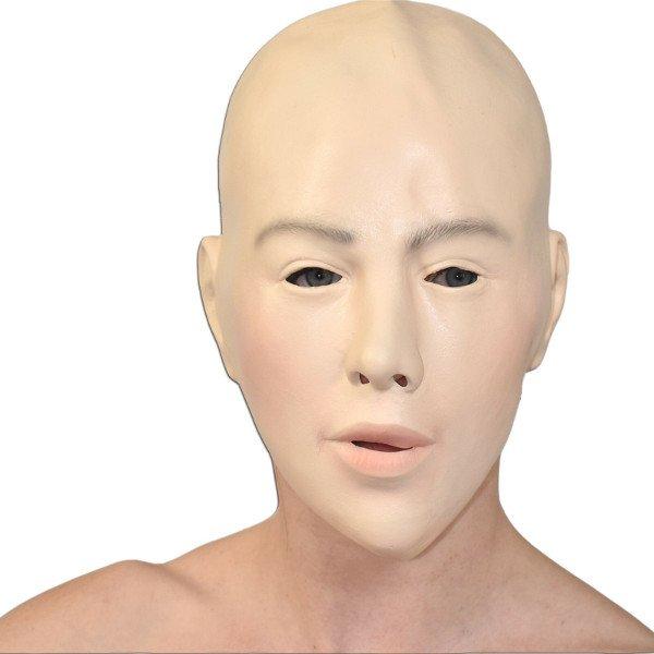Schaumlatex Theatermaske zur Verwandlung in einer Frau