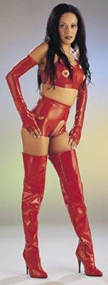 Extra scharfe hochgeschnittene Erotik-Hose