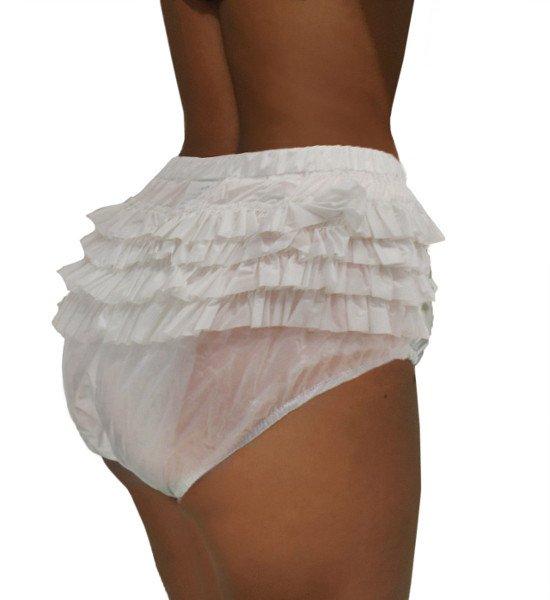 PVC Windelhose mit Rüschen für Sie & Ihn