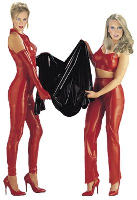 Latex Cat Suit erotisch figurbetonend