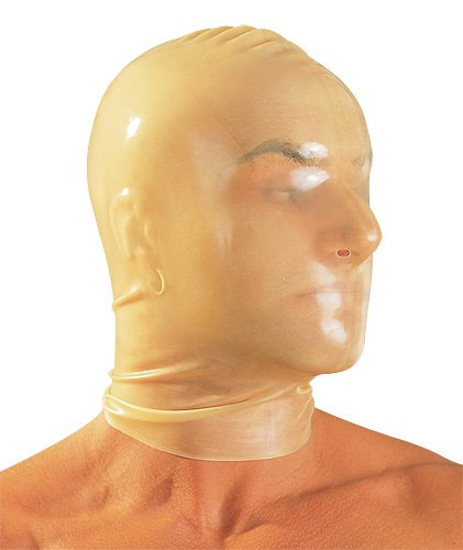 Latex-Sklavenmaske