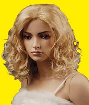 Perücke Lucy, blond gelockt