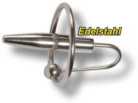 Eichel-Cockring mit Harnröhren-Dilitator