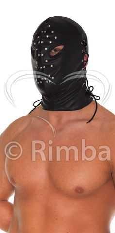 RIMBA Leder-Fetisch-Henkermaske