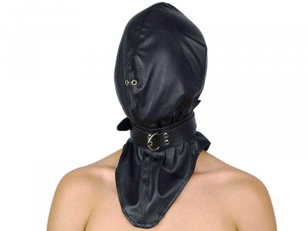 Leder-Kopfsack (Imitat)