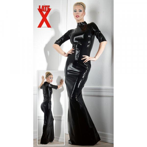 Latex Kleid schwarz