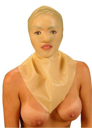 Henkermaske mit Augen/Mund/Nasenöffnung