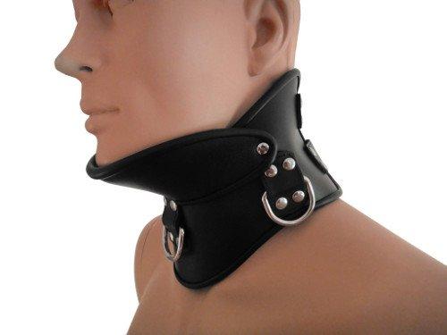 Leder Halsband Nacken Korsett