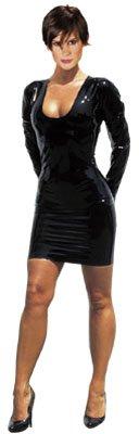 Extrem figurbetonendes Langarm Minikleid