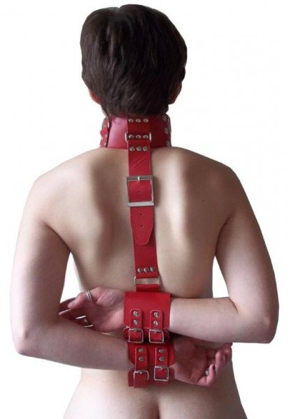 Zwangsfessel für Hals und Arme