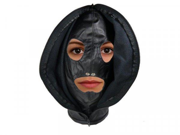 Isolation-Maske offen oder halboffen
