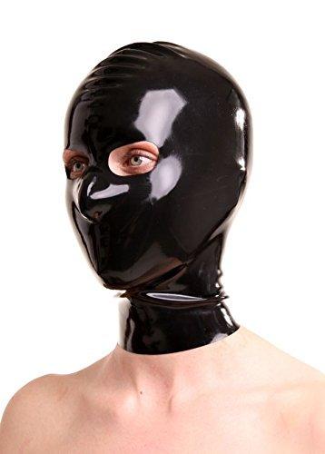 Latex-Maske mit Augen & Nasenöffnung