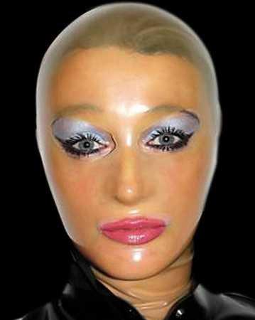 Latex 3-D Fetisch-Maske