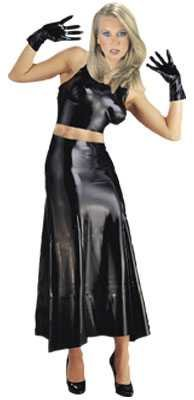 Latex BH-Bustier in TRANSPARENT
