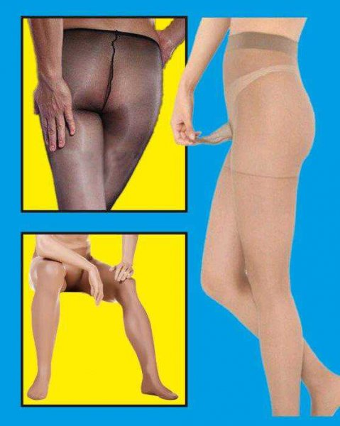 Nylon-Männerstrumpfhose