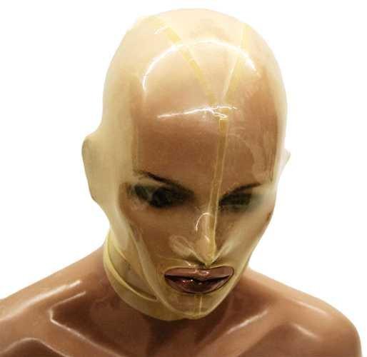 Latex Sklaven-Maske